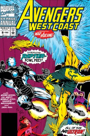 West Coast Avengers Annual #8