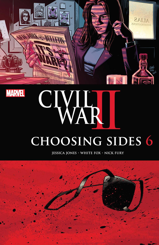 Civil War II: Choosing Sides (2016) #6