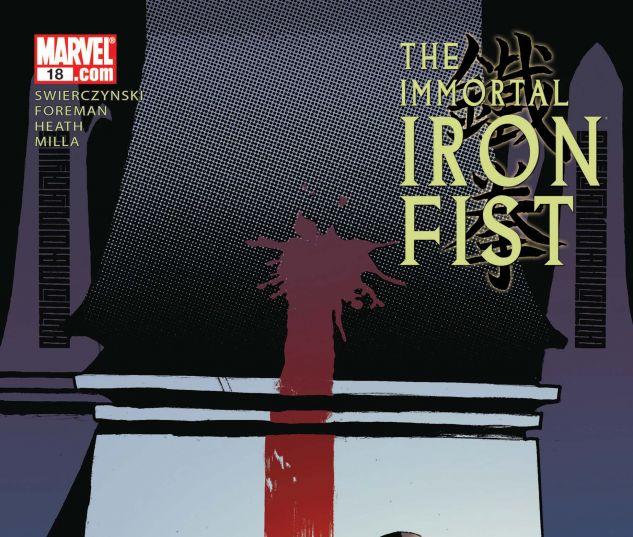 THE IMMORTAL IRON FIST (2006) #18