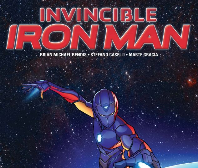 Cover to Invincible Iron Man (2016) #2