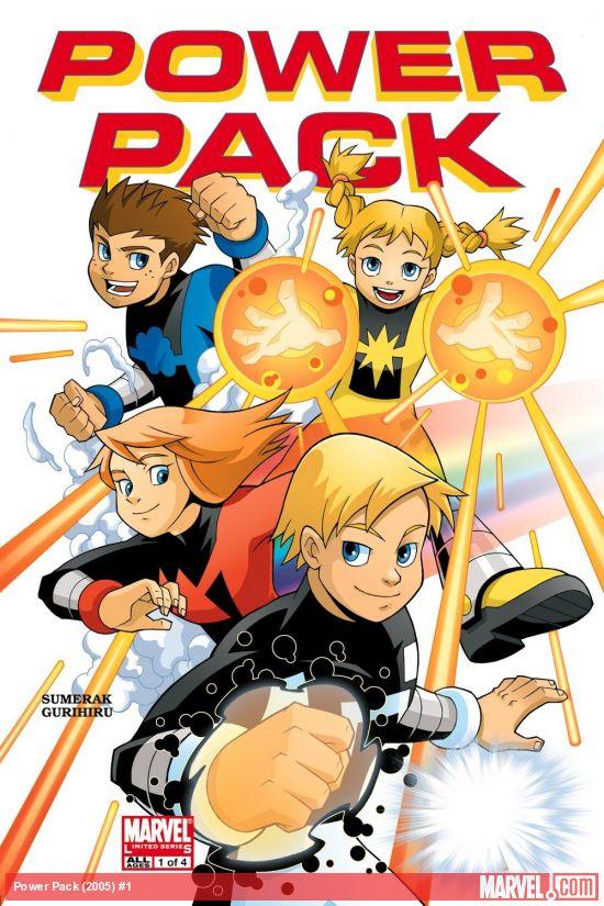 Power Pack (2005) #1