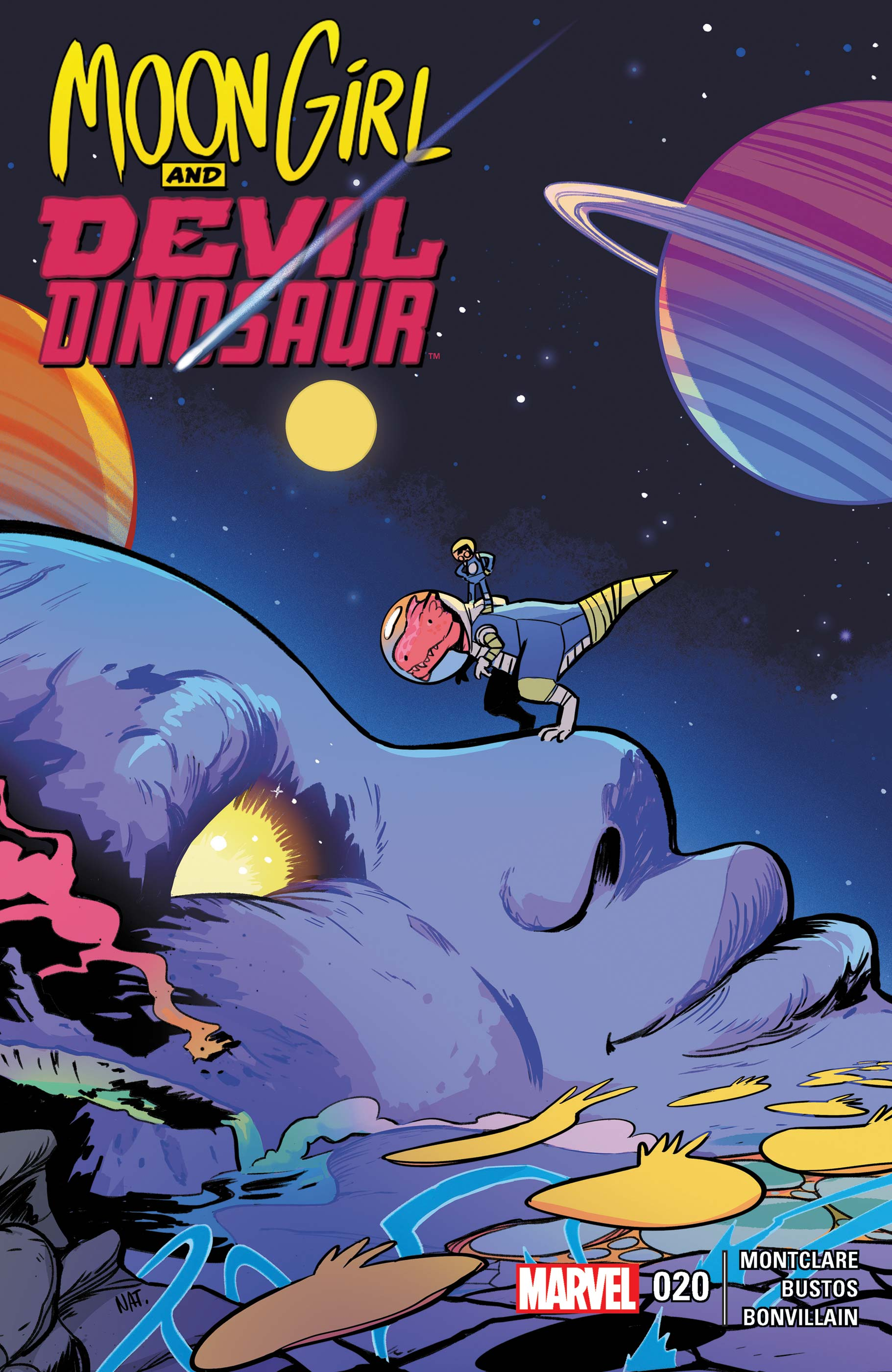 Moon Girl and Devil Dinosaur (2015) #20