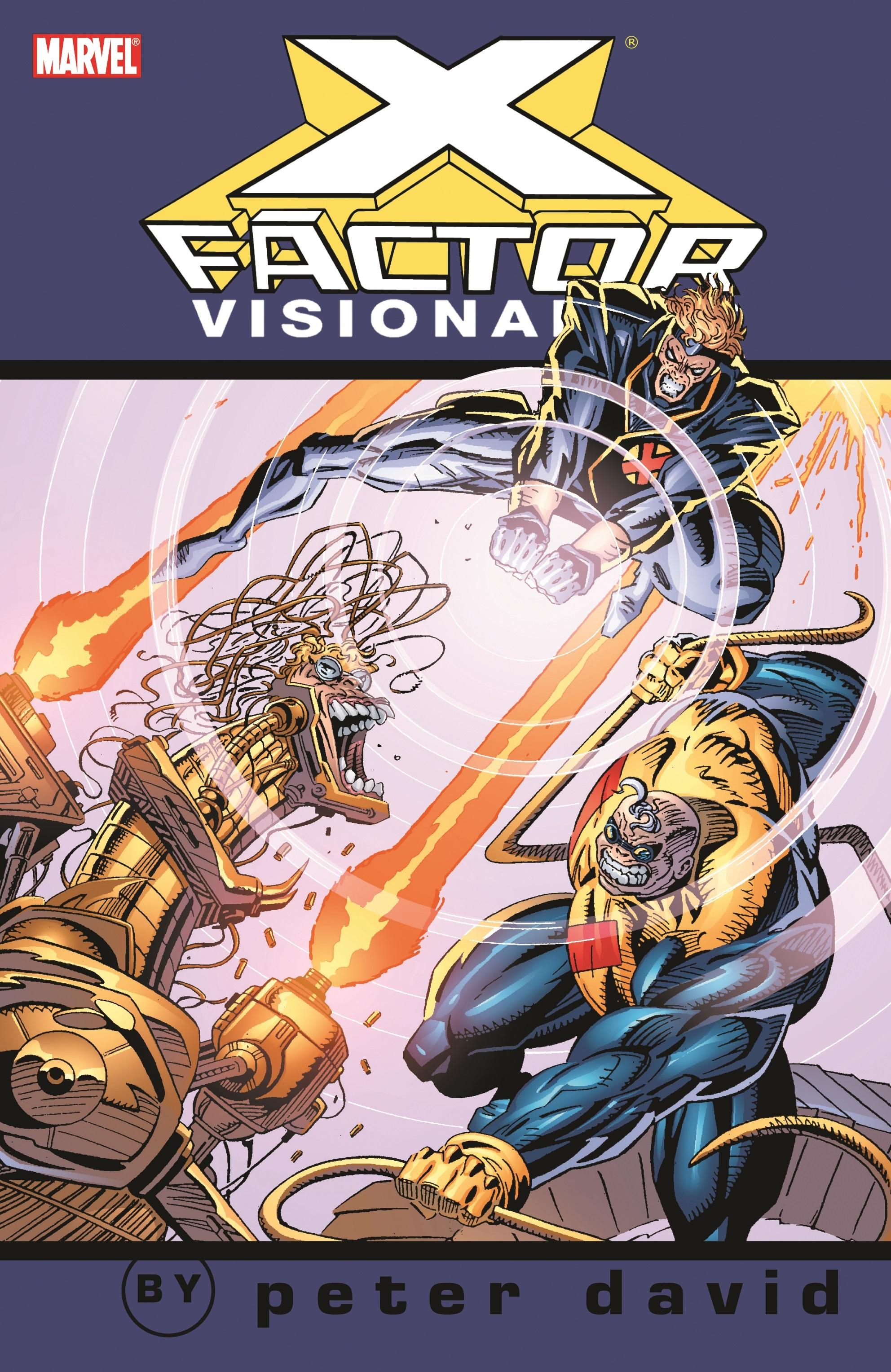 X-Factor Visionaries: Peter David Vol. 3 (Trade Paperback)