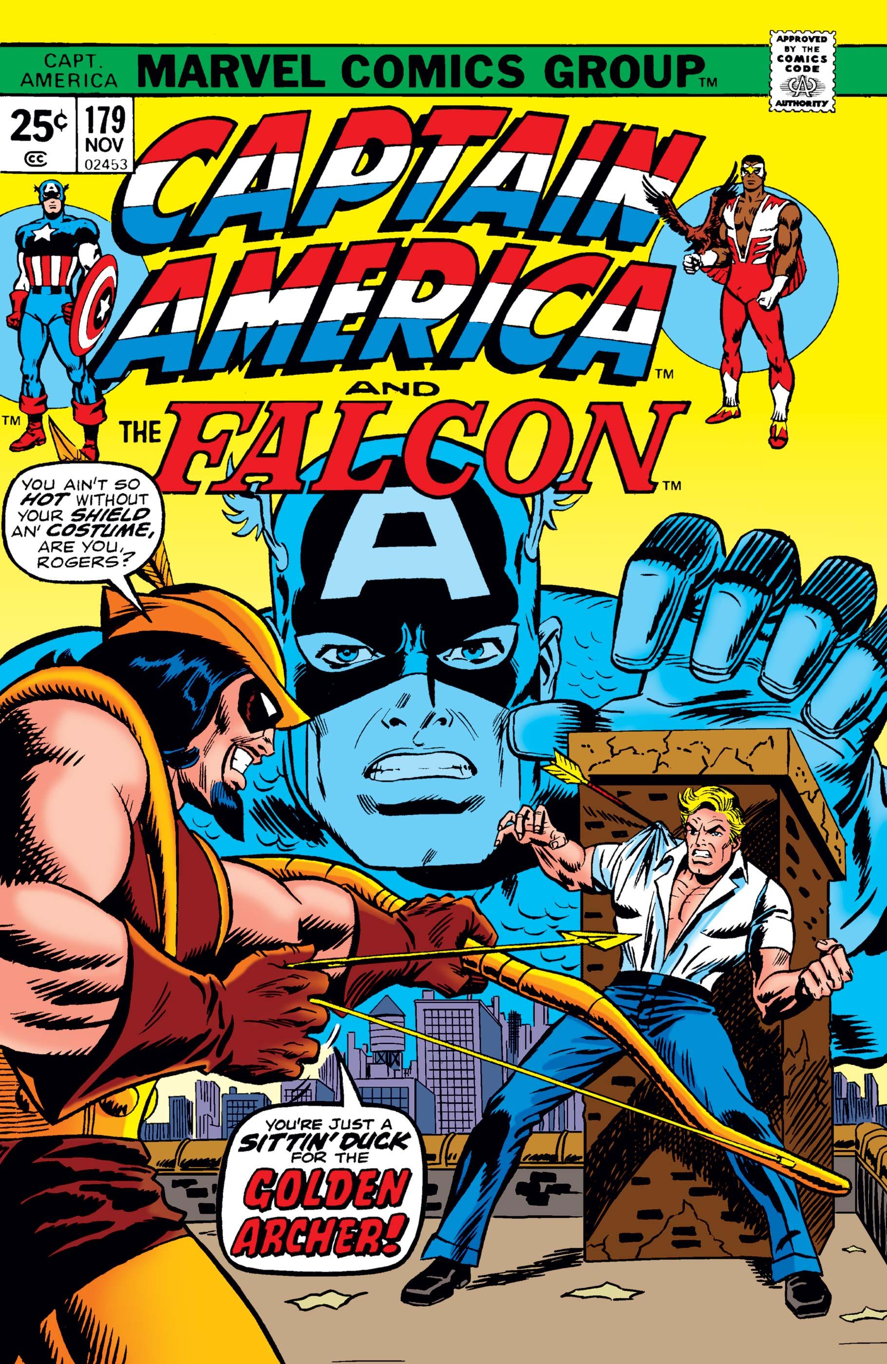 Captain America (1968) #179
