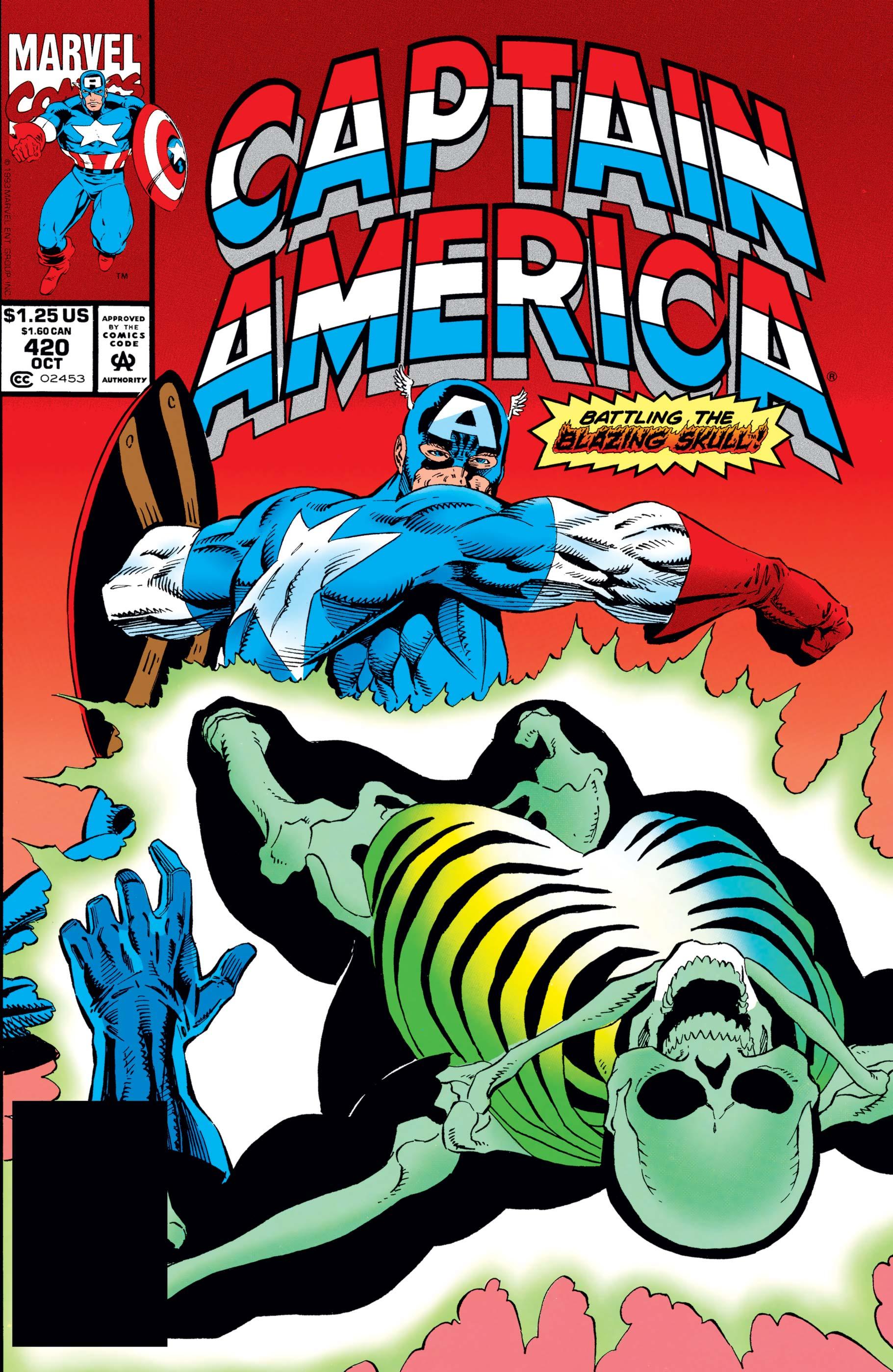 Captain America (1968) #420
