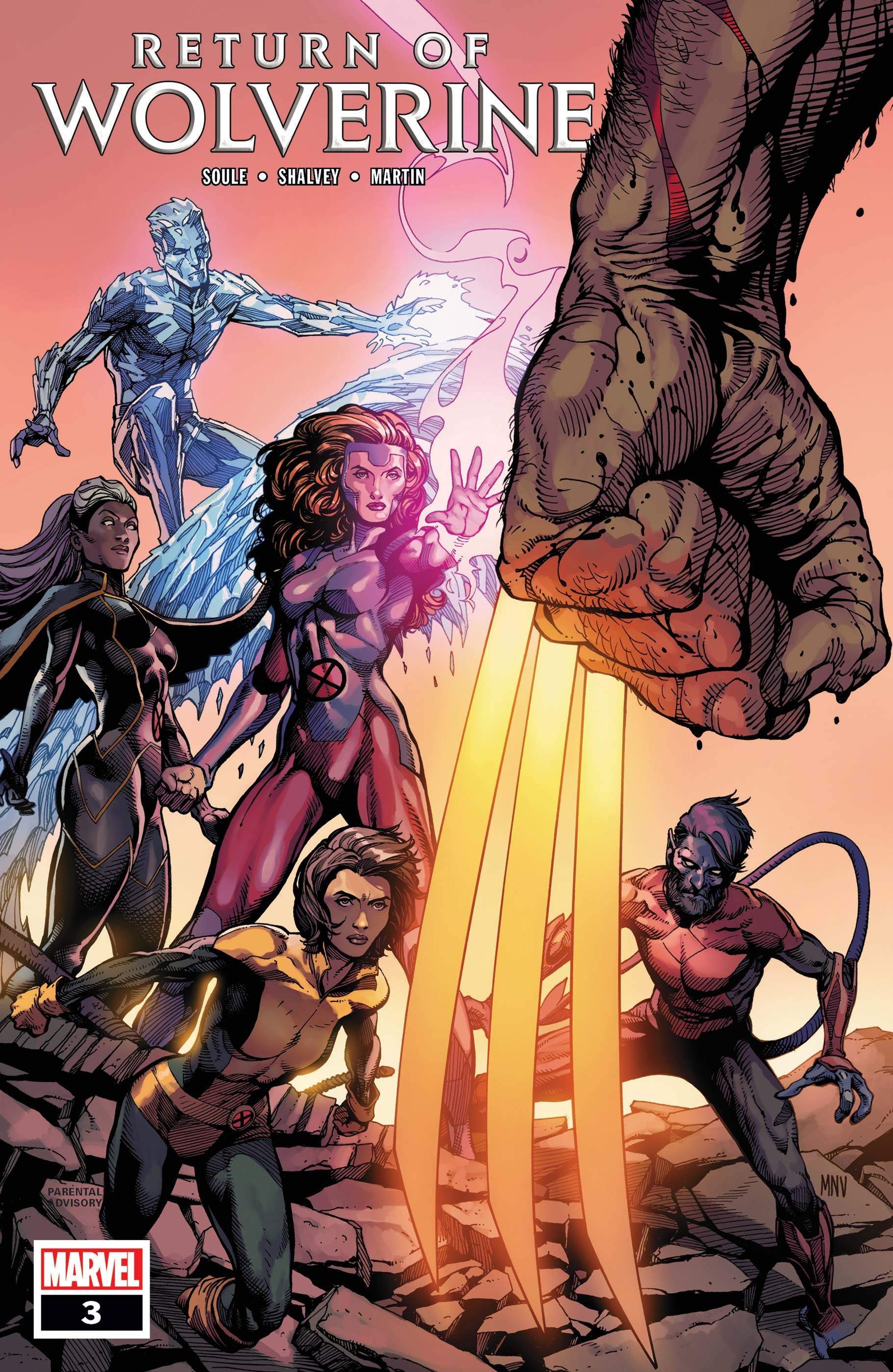 Return of Wolverine (2018) #3