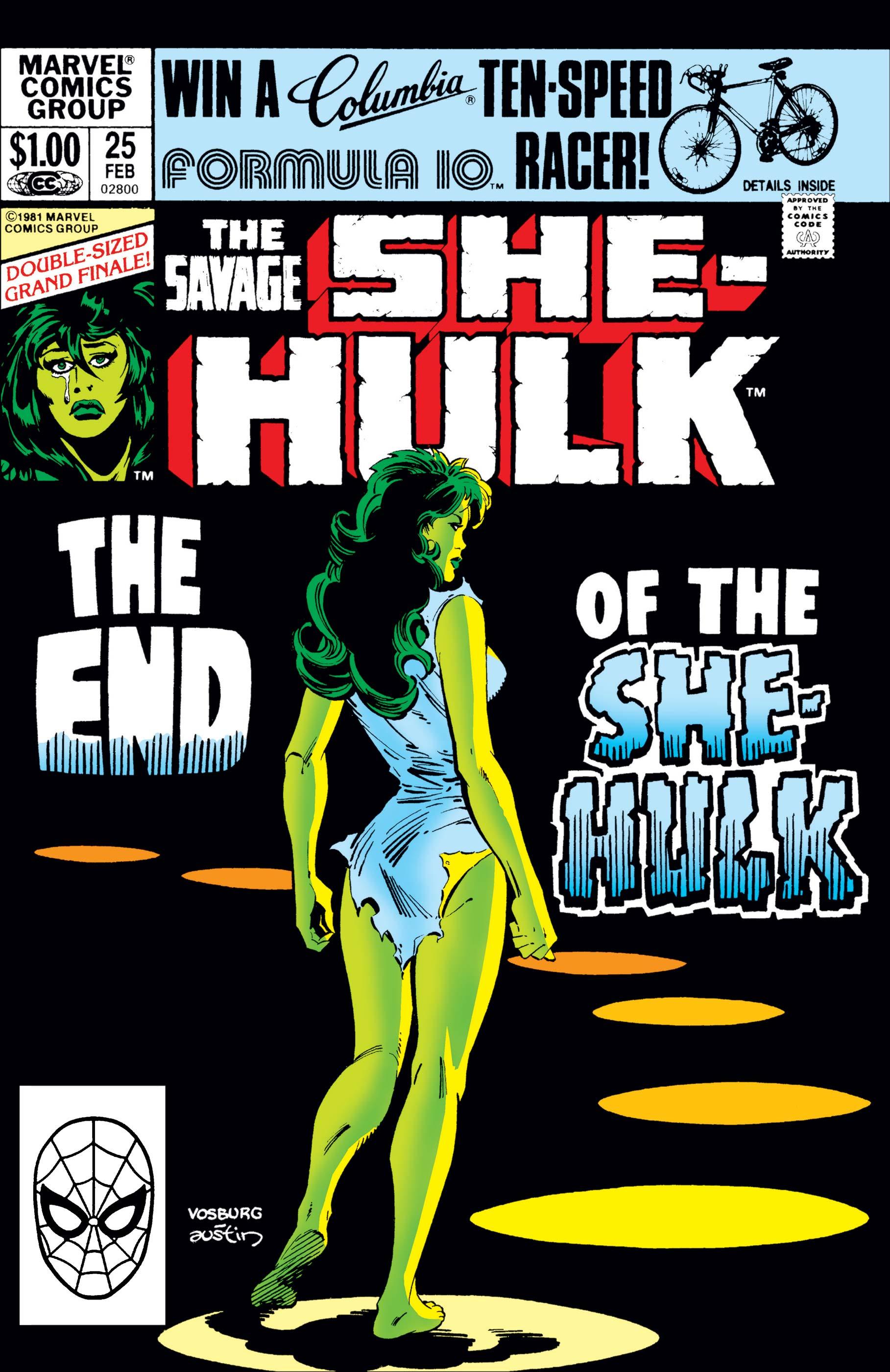 Savage She-Hulk (1980) #25