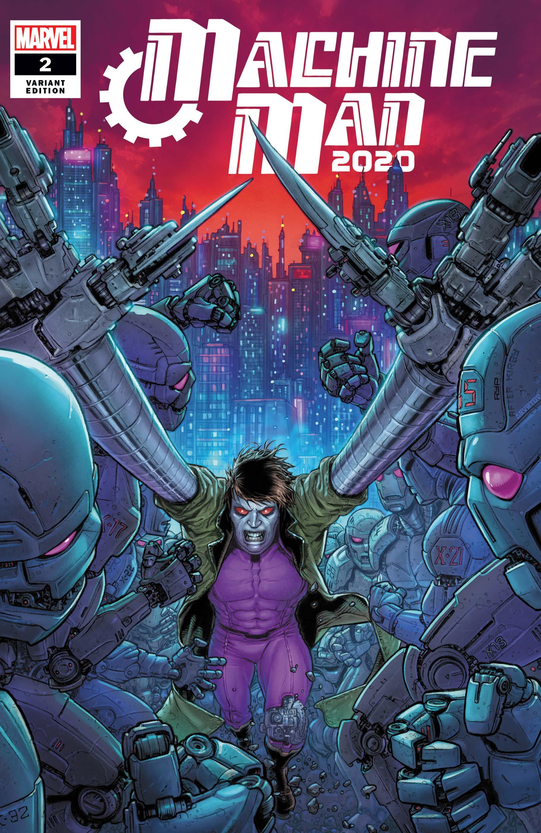 2020 Machine Man (2020) #2 (Variant)
