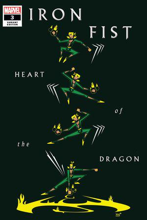 Iron Fist: Heart of the Dragon (2021) #3 (Variant)