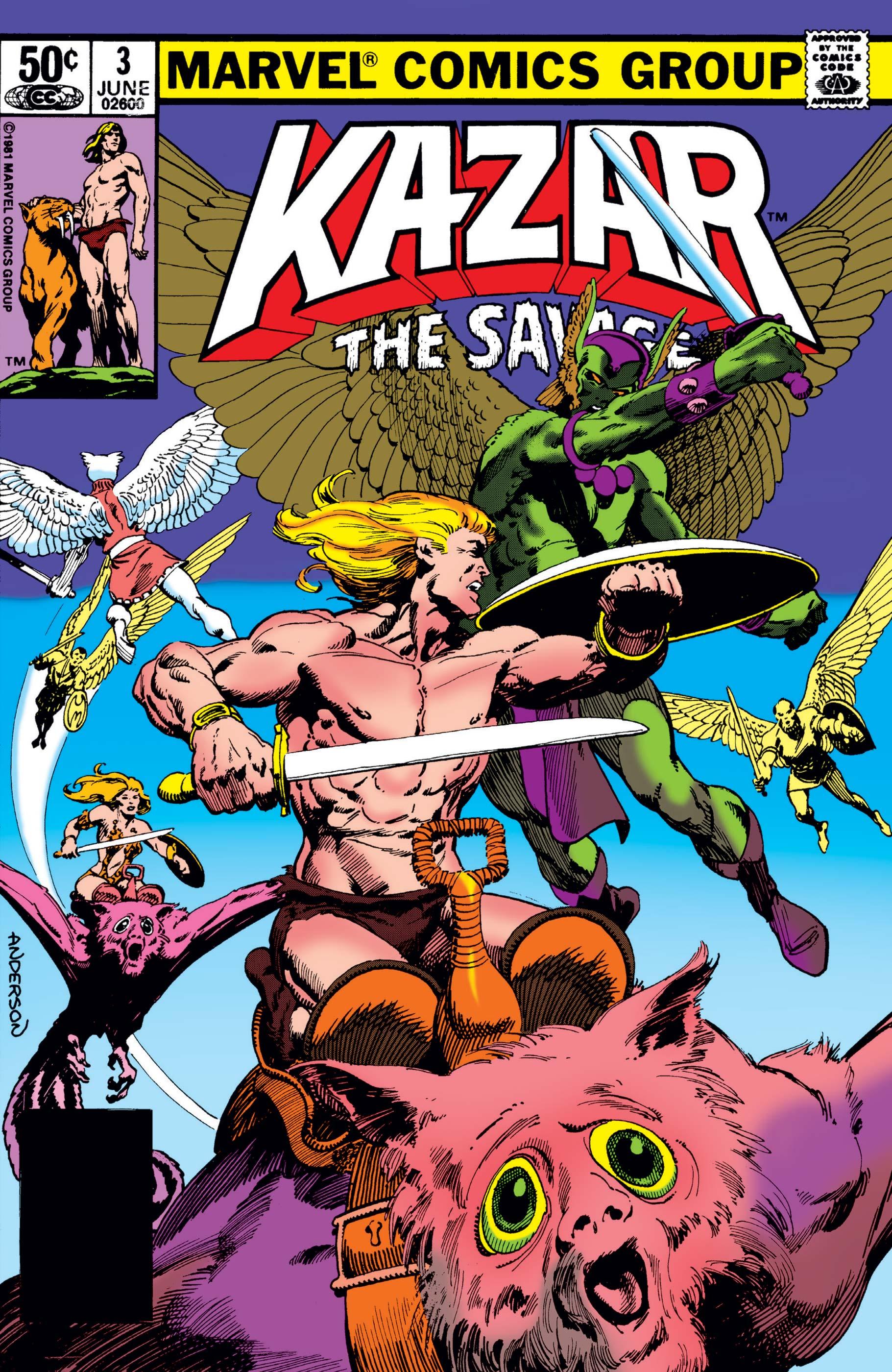 Ka-Zar the Savage (1981) #3