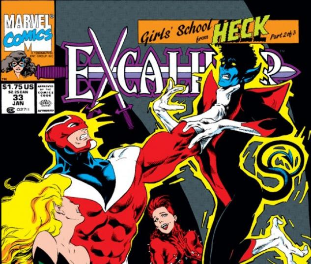 EXCALIBUR #33 COVER