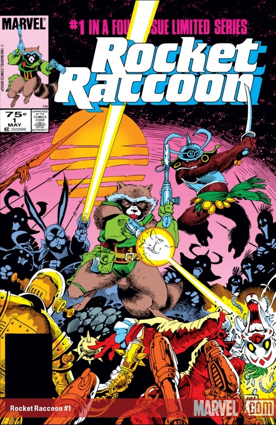 Rocket Raccoon (1985) #1