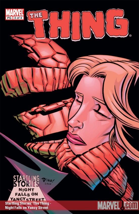 Startling Stories: Thing - Night Falls on Yancy Street (2003) #3