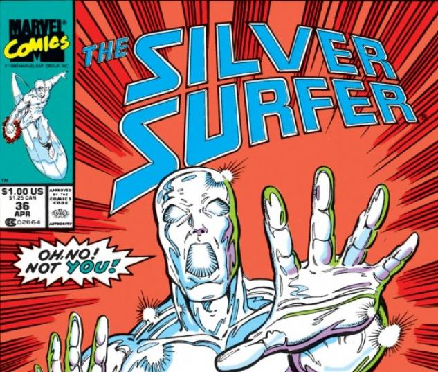silver surfer #36