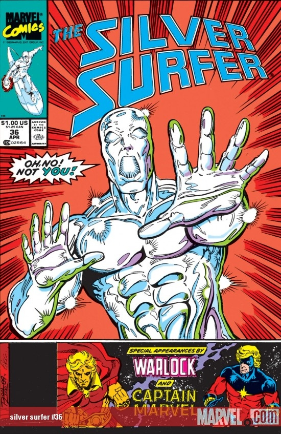 Silver Surfer (1987) #36