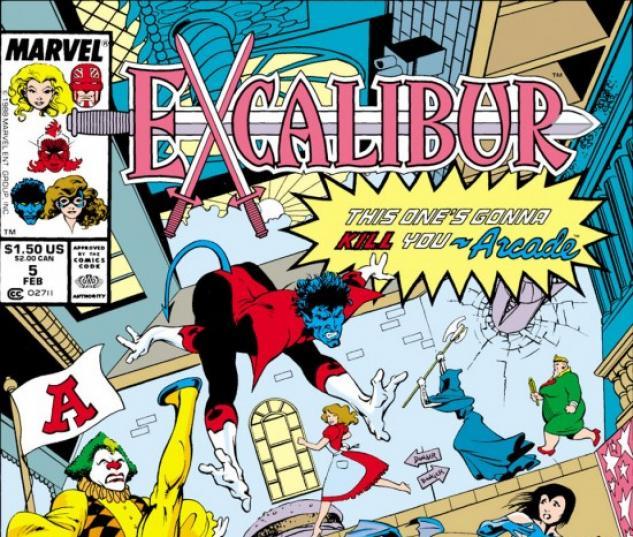 EXCALIBUR #5 COVER