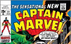 CAPTAIN MARVEL #21 COVER