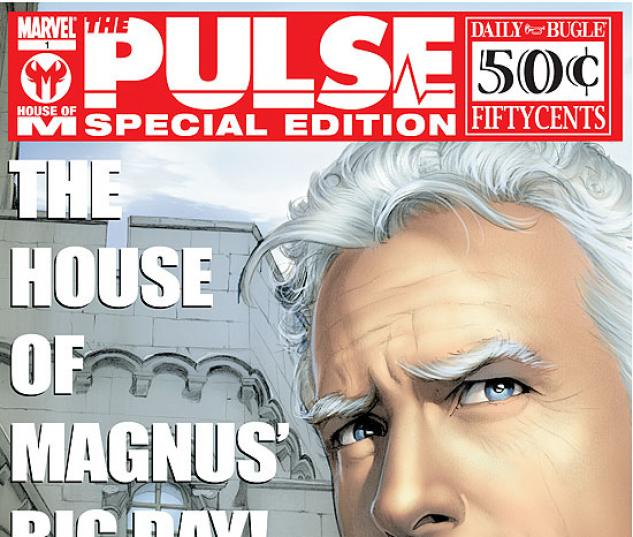 THE PULSE: HOUSE OF M SPECIAL (2002) COVER