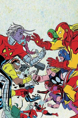 X-Statix Vol. 4: X-Statix Vs. the Avengers (Trade Paperback)