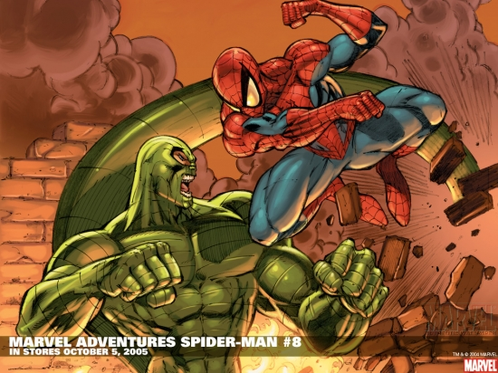 Marvel Adventures Spider-Man (2005) #8 Wallpaper