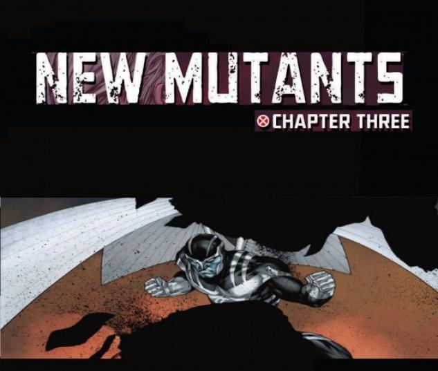 New Mutants (2009) #12 (3RD PRINTING VARIANT)