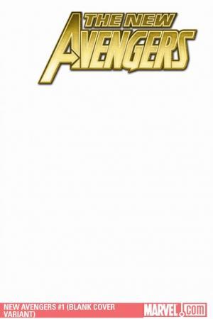 New Avengers (2010) #1 (BLANK COVER VARIANT)