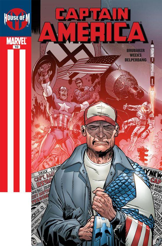 Captain America (2004) #10