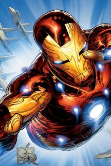 Invincible Iron Man (2008) #500 (QUESADA VARIANT)