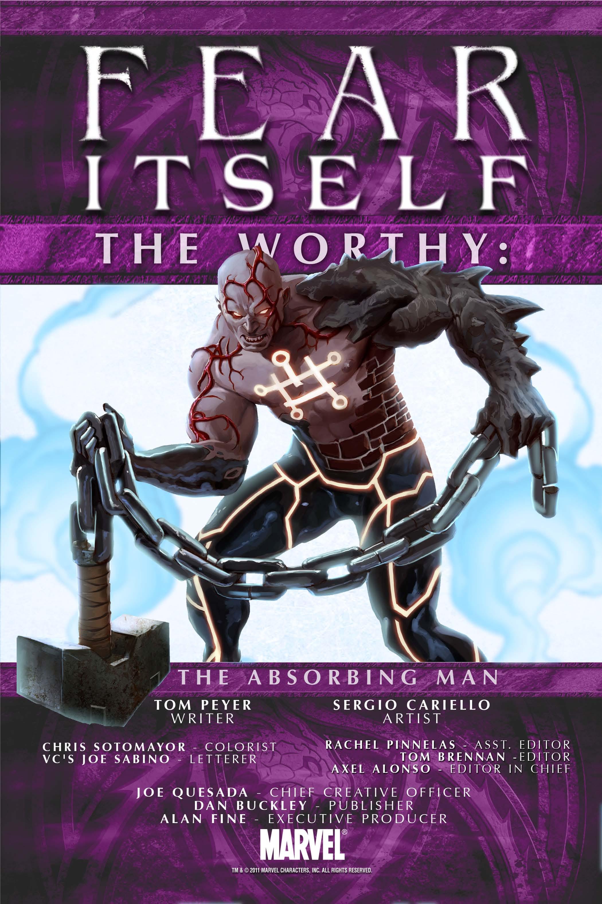 Fear Itself: The Worthy (2011) #7