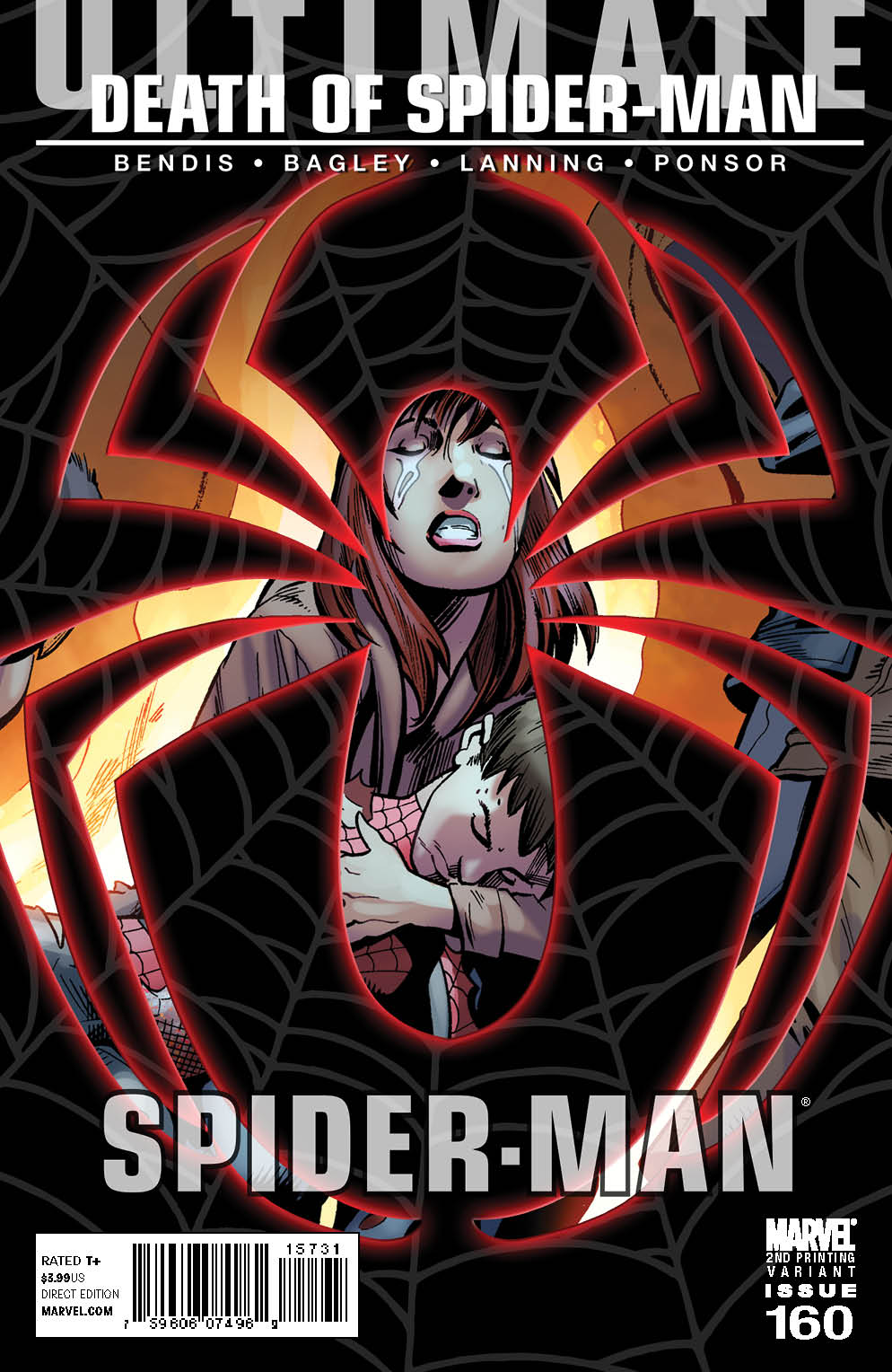 Ultimate Comics Spider-Man (2009) #160 (2nd Printing Variant)