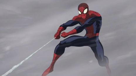 Screenshot from Ultimate Spider-Man Ep. 13