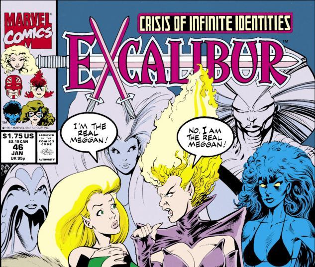 Excalibur (1988) #46 Cover