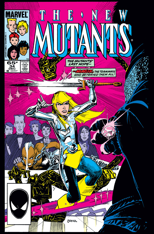 New Mutants (1983) #34
