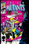 New Mutants (1983) #34 Cover