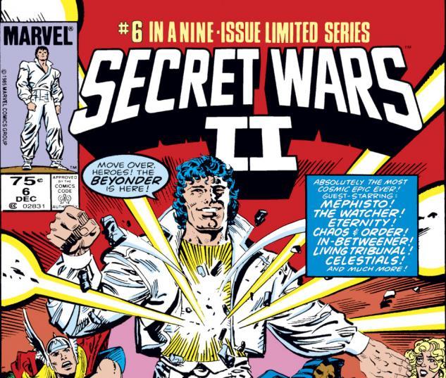 Secret Wars II (1985) #6 Cover