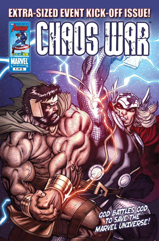 Chaos War (2010) #1
