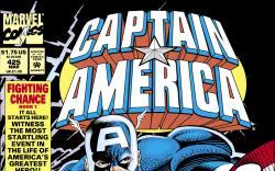 Captain America (1968) #425 Cover