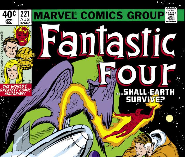 Fantastic Four (1961) #221 Cover