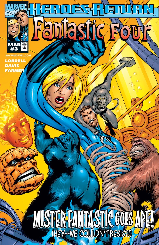 Fantastic Four (1998) #3