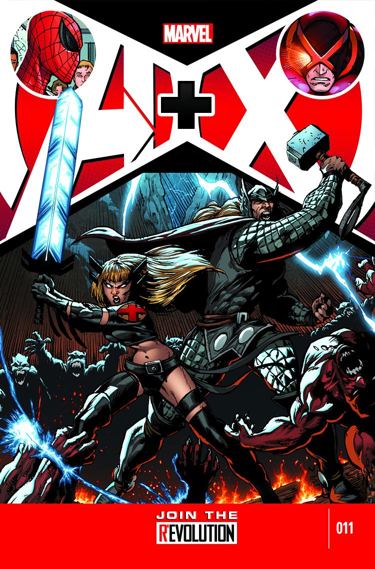 A+X (2012) #11