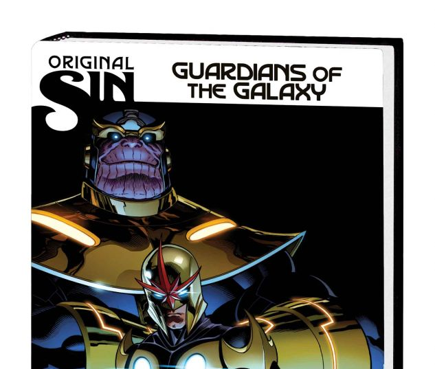 GUARDIANS OF THE GALAXY VOL. 4: ORIGINAL SIN PREMIERE HC (WITH DIGITAL CODE)