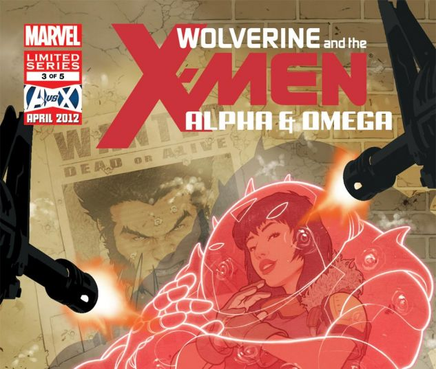 WOLVERINE & THE X-MEN: ALPHA & OMEGA (2011) #3 Cover