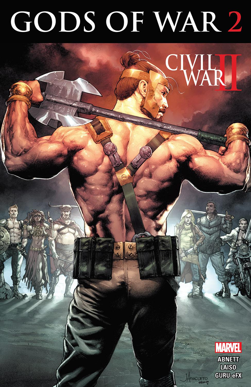 Civil War II: Gods of War (2016) #2