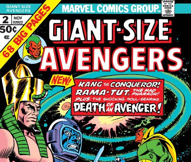 Giant-Size Avengers (1974) #2