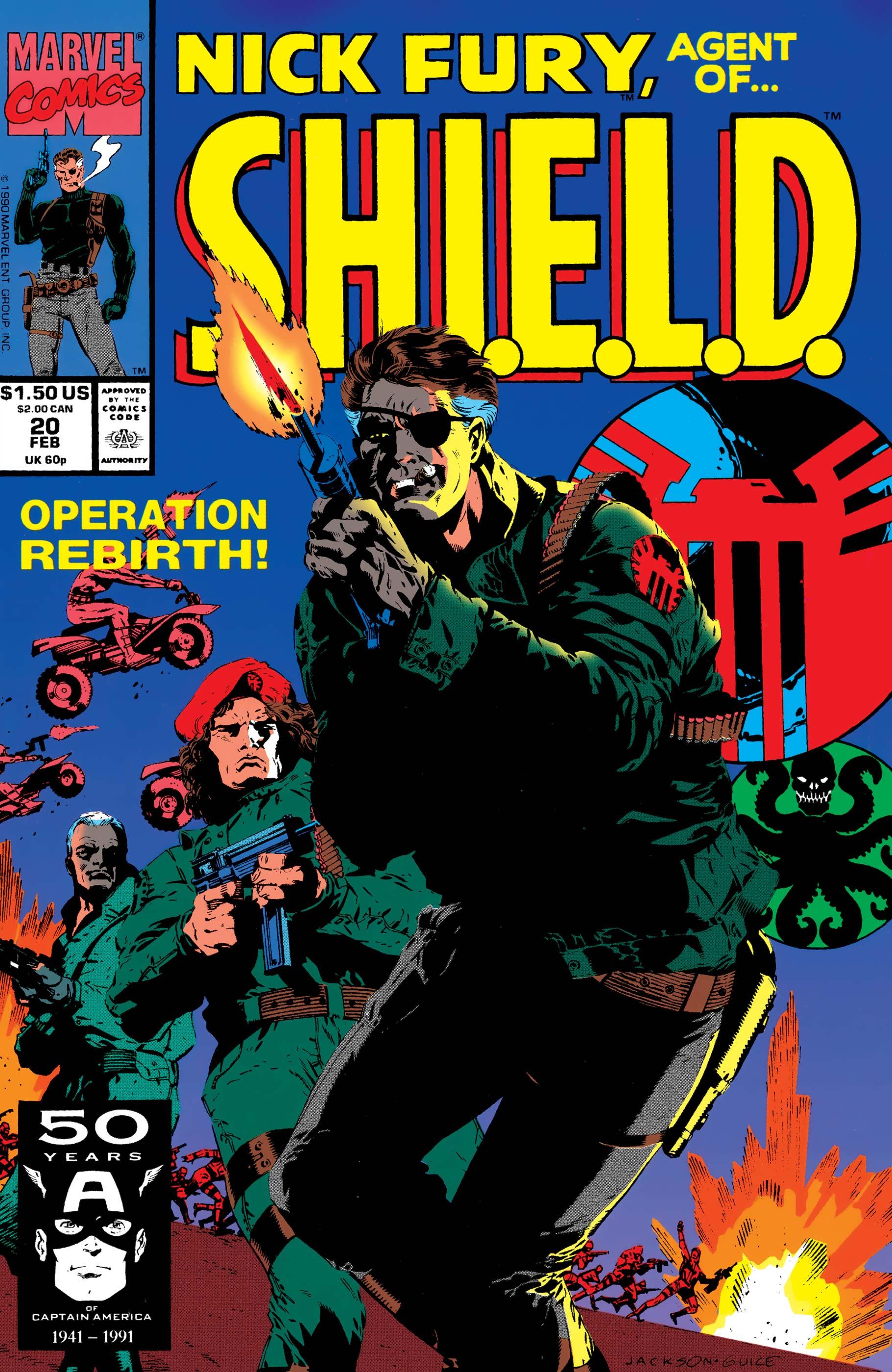 Nick Fury, Agent of S.H.I.E.L.D. (1989) #20