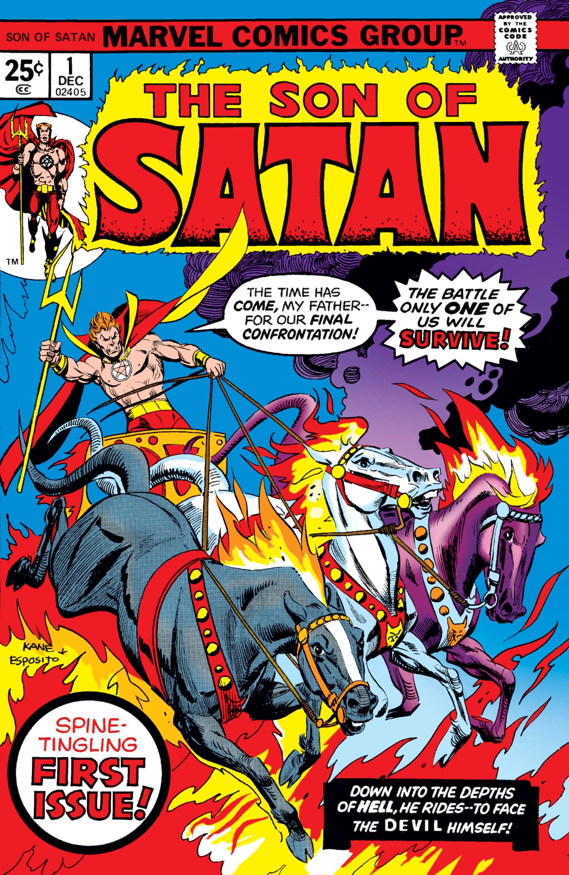 Son of Satan (1975) #1