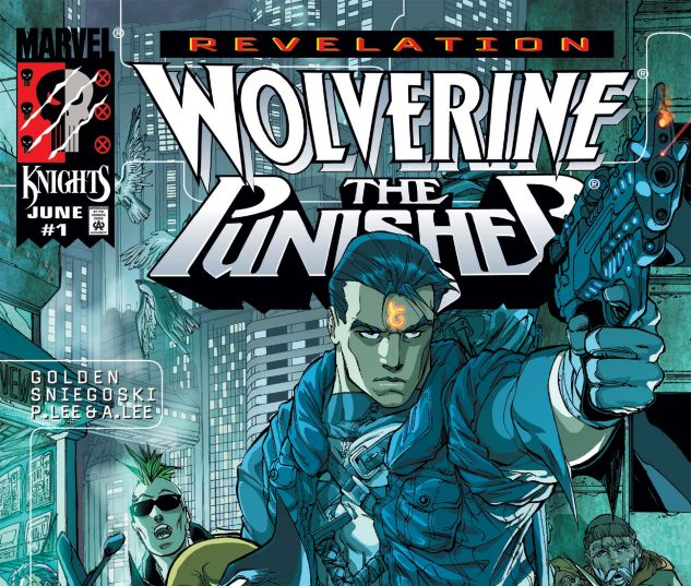 Cover for WOLVERINE/PUNISHER: REVELATION 1