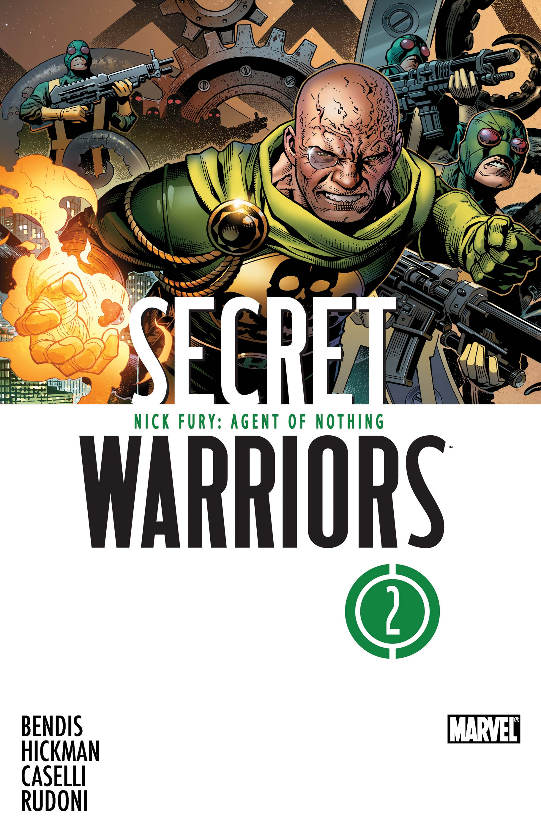 Secret Warriors (2009) #2