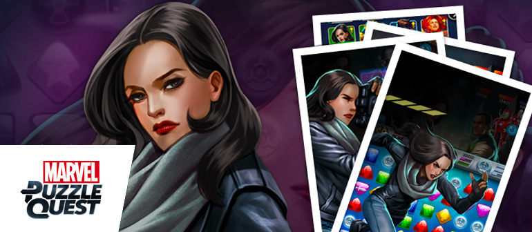 The Power Woman brings her tough exterior to the hit mobile game