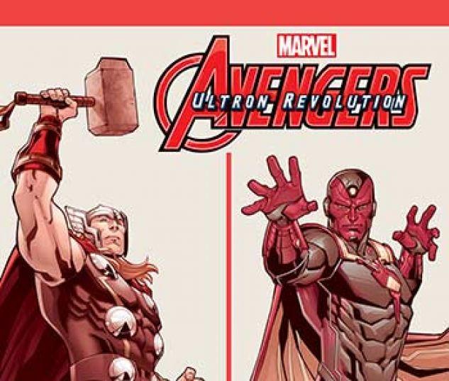cover from Marvel Universe Avengers: Ultron Revolution (Digital Comic) (2017) #15